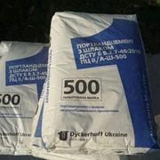 Сухие строительные смеси для выравнивания Марка ПЦI-500 портландцемент тарированный в мешки по 50 кг. фото