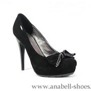 Женские туфли из натуральной кожи фото