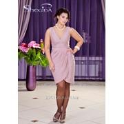 Платье 1704 Розовый цвет фото