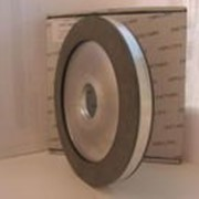 Круг алмазный шлифовальный плоский с двухсторонней выточкой фото