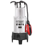 Насос погружной измельчающий дренажный для сточных и фекальных вод BT6877K INOX фото