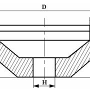 Круги алмазные чашечные конические формы 12А2 с углом 45° фото