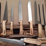 Нож для об валки и жиловки , муссаты.. фото