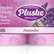 Трехслойная туалетная бумага высшего качества Deluxе Plus Лаванда фото
