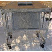 Контейнер для сбора вторсырья 1,1 м.куб.