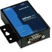 Асинхронный сервер 1-портовый RS-232 в Ethernet NPort 5110A Moxa фото