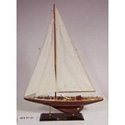 Модель парусной яхты фото
