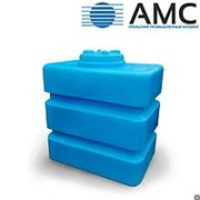 Бак пластиковый 1000 литров прямоугольный с крышкой фото