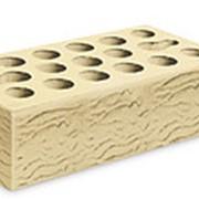 Кирпич керамический облицовочный (лицевой) пустотелый Пшеничное лето Риф 1 NF фото