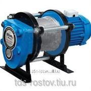 Лебедка KCD-1000, 1000 кг 380 В с канатом 100 метров фото