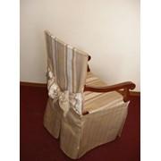 Пошив чехлов на стулья, дизайн фото