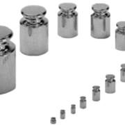 Калибровочные гири, класс F2, 100г, 200г, 500г, 1кг, 2кг фото