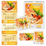 Календари, Карманные календари, Настенные календари