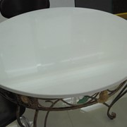 Столы со столешницами из искусственного камня фото