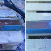 Очистка металла от коррозии, удаление ржавчины, послойное снятие краски фото