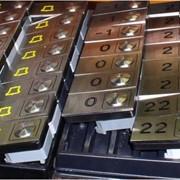 Накладки кнопок для лифтов, детали лифтов от производителя. Киев фото