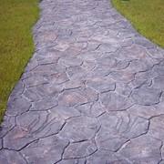Дорожки бетонные прогулочные фото