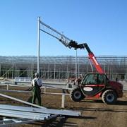 Строительство промышленных теплиц «под ключ» фото