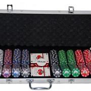 Покерный набор на 500 фишек с номиналом ГД4 - 500 фото