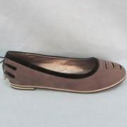 Туфли женские осенние без каблука фото