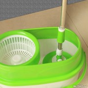 Швабра с отжимом и полосканием Double Spin Mop (Spin and Go Pro2) фото