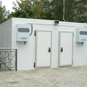 Установка промышленного холодильного оборудования фото