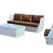 Комплект плетеной мебели Арон фото