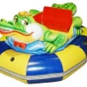Бамперная лодка Крокодил фото