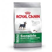 Mini Sensible Royal Canin корм для щенков и взрослых собак, От 10 месяцев до 8 лет, Пакет, 2,0кг фото