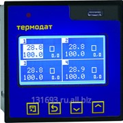 Измеритель-архиватор температуры Термодат-17Е6 - 4 универсальных входа, 1 дискретный вход, 4 транзисторных выхода, 1 реле, интерфейс RS485, архивная память, USB-разъем фото