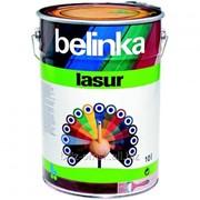 Декоративная краска-лазур Belinka Lasur 10 л. №18 Красная Артикул 50518 фото
