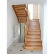 Лестница деревянная модель 1 05.01.2015