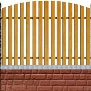 """Забор деревянный серии """"Базис"""" фото"""