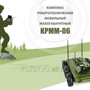 Комплекс робототехнический мобильный малогабаритный КРММ-06 фото
