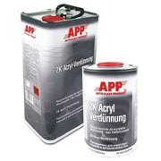 APP APP 030130 Растворитель к продуктам акриловым и базовым 2K-Acryl Verdünnung 5л. фото