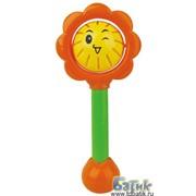 Развивающая игрушка-погремушка Цветочек