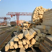 Брус деревянный для стрелочных переводов ГОСТ 8816-2003 фото