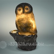 Художественный светильник Сова фото