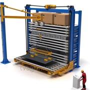 Автоматизированный склад листового металлопроката с возможностью хранения штучных грузов фото