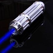 Лазерная указка прожигающая 3000mW (синий луч) фото