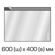 Курьерский полиэтиленовый пакет 600х400 мм. + 40 мм.(клапан) 500 шт фото