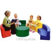 Уголок игровой (4 дивана, 1 столик) фото