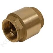 PVC клапан обратный ф63 (односторонний с пружиной) фото