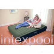 Двуспальная надувная кровать Deluxe Mid Rise Pillow Rest Bed INTEX 67726 фото