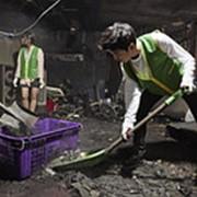 Уборка после пожара фото