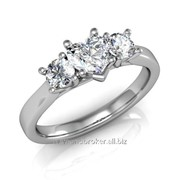 Кольца с бриллиантами D40567-1 фото