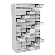 Шкаф картотечный для библ. карт (65 ячеек) фото