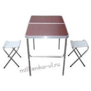 Стол+2 стула, сто-001 фото