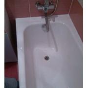 Реставрация старых ванн жидким акрилом фото