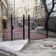 Распашные ворота св05 фото